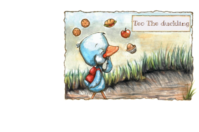 Diabetes explained to children by TEO the Duckling