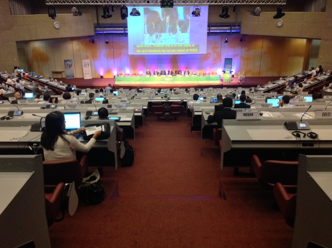 World Summit on the Information Society (WSIS) 2014
