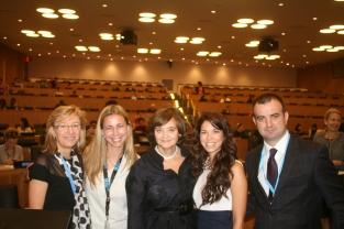Dr. Veronique Thouvenot, Dr. Kristie Holmes, Mrs. Cherie Blair, Ms. Jeannine Lemaire, Dr. Jordi Serrano Pons