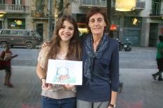 Nurse Norma Grau and illustrator Cristina Serrat