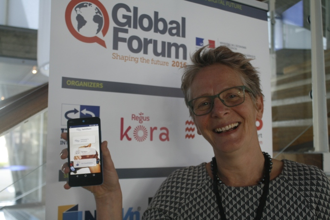 Midwife Franka Cadée on her project and the new App.