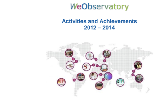 2012-2014 WeObservatory activities and achievements