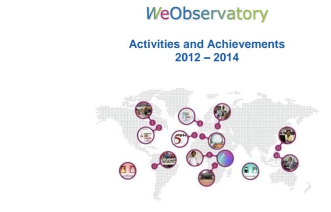 2012-2014 WeObservatory activities and achievements