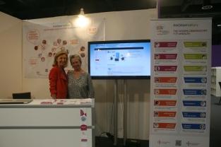 Dr. Thouvenot and Eleonora Muntañola Thornberg of CASA