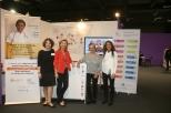 members of the WeObservatory: Doina Jaravin, Dr.Thouvenot, Eleonora Muntañola Thornberg of CASA and Fiona Marlow of CloudBabies