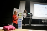 Fiona Marlow of CloudBabies and Dr Thouvenot