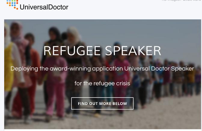 Refugee Speaker by UniversalDoctor