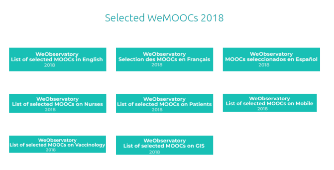 WeMOOCs 2018 are published in a new format!