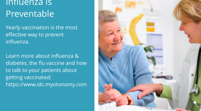 The Influenza Diabetes Community Flu Season campaign: education for the Global Nursing Community