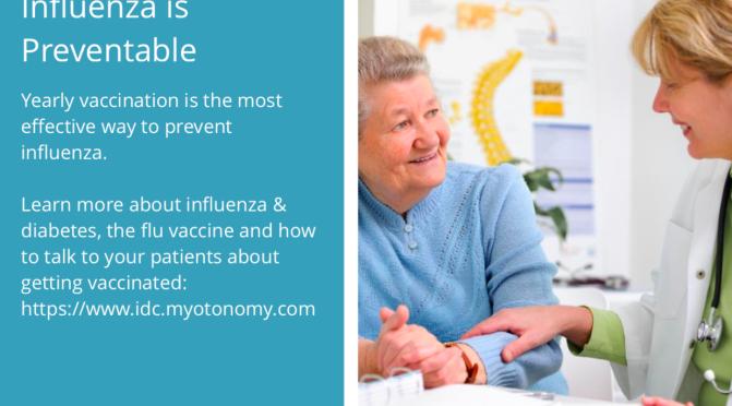 The Influenza Diabetes Community Flu Season campaign: education for the Global Nursing Community