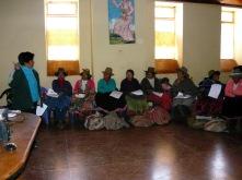 ePrevencion course in indigeneous villages Peru